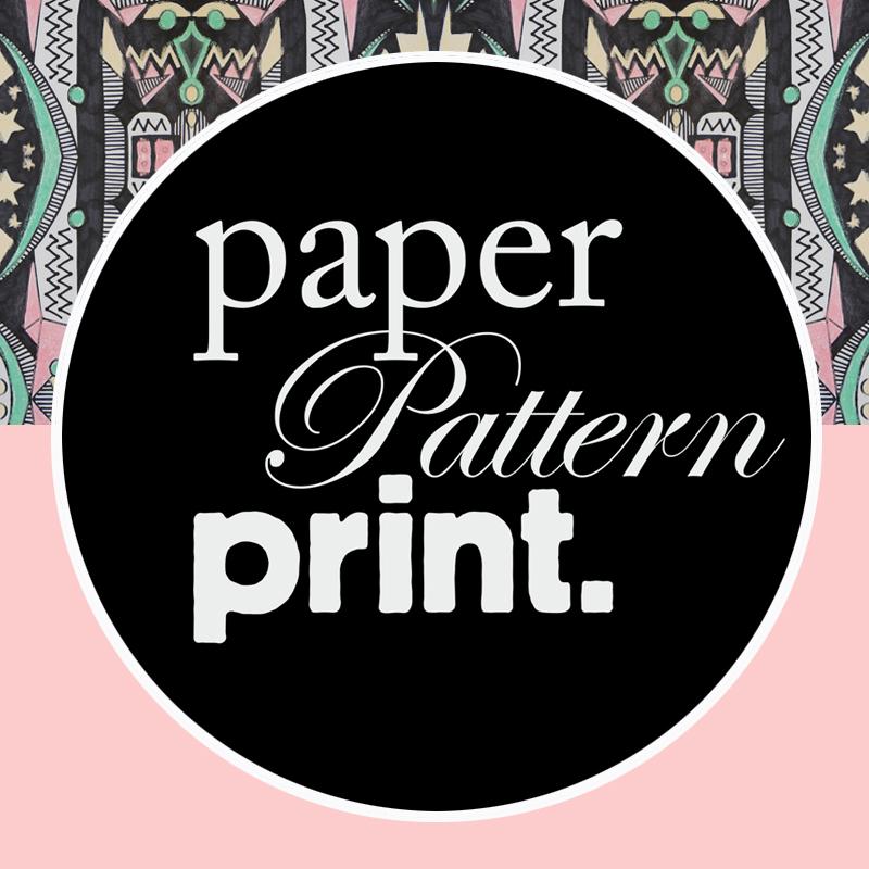 Paper Pattern Print Workshop Surface 122